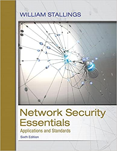 Resultado de imagen para Network Security Essentials: applications and standards. - 6a edition