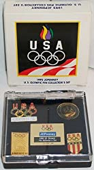 3362d5bd93a8 USA 1992 JCPenney US Olympic Pin Collector s Set In Box