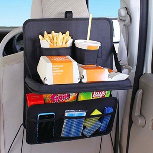 back seat car organizer with tray - 6