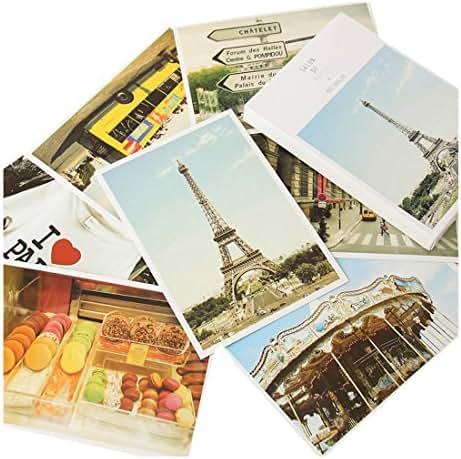 Fancyoung 32Pcs Set Travel Sights Landscape Postcard Greeting Cards Souvenir Gifts