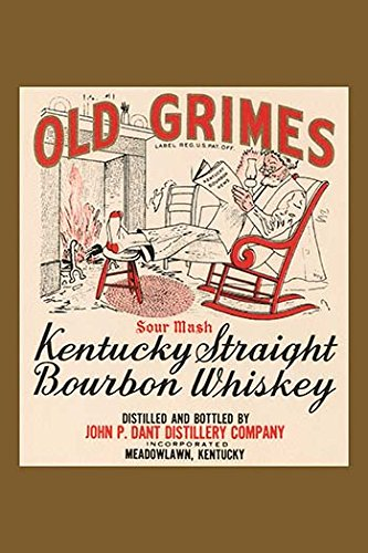 Buyenlarge Old Grimes Sour Mash Kentuck Straight Bourbon Whiskey - Gallery Wrapped 28