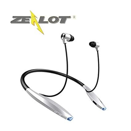 Zealot Sport Bluetooth Headset Earphone H7 Wireless Sweatproof Neckband Design Magnetic Earbuds Vibrator Auriculares cuffie Fones