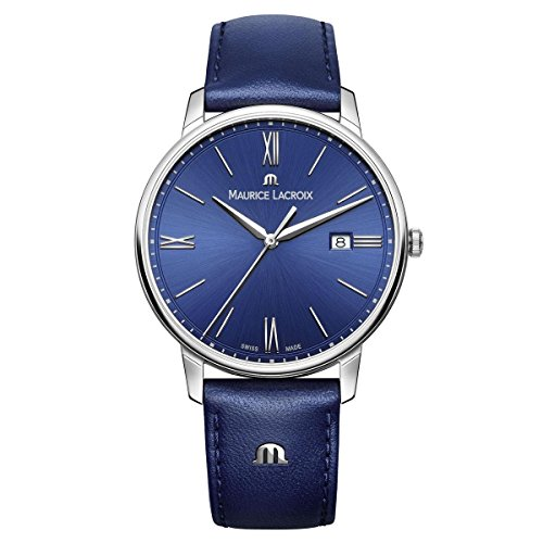 maurice-lacroix-mens-eliros-quartz-stainless-steel-and-leather-casual-watch-colorblue-model-el1118-s