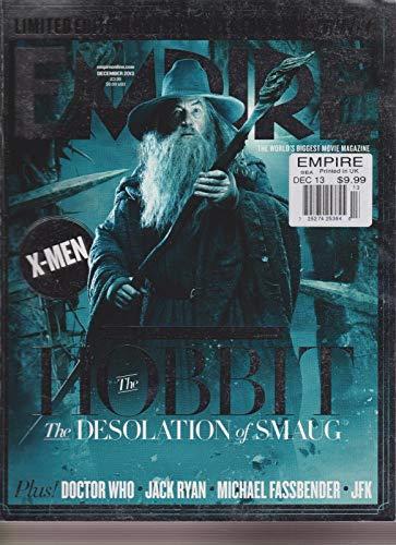 EMPIRE UK MAGAZINE #294 DEC 2013, The HOBBIT, Desolation of Smaug, COVER 2.