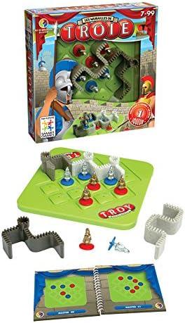 Smart - Troya, Juego de ingenio con retos (51556): Amazon.es: Juguetes y juegos