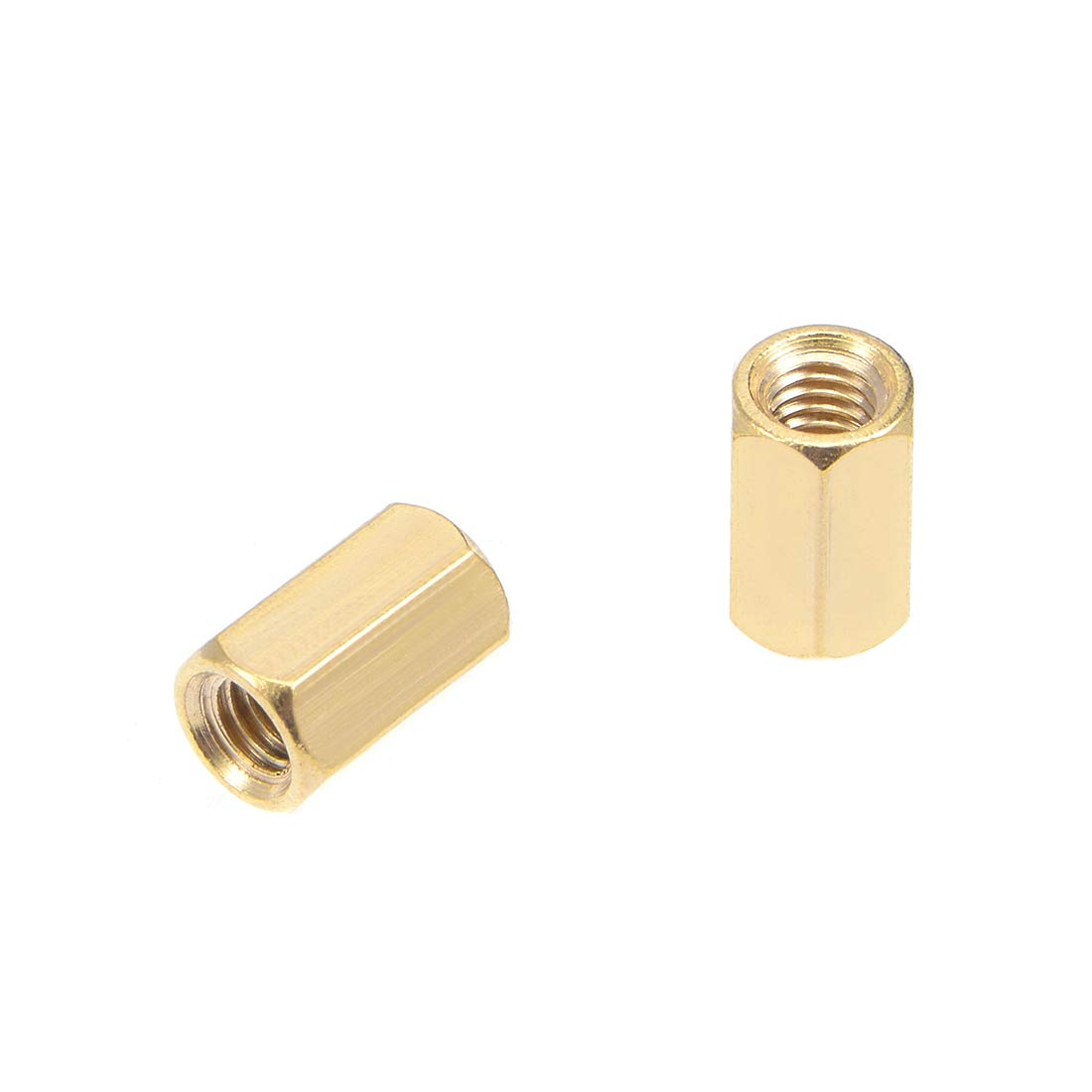 Computer /& Circuit Board 72pcs uxcell M2.5x7mm+6mm Male-Female Brass Hex PCB Motherboard Spacer Standoff Screw Nut Kit for FPV Drone Quadcopter