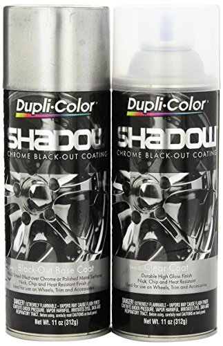 Dupli-Color SHD1000 Shadow Chrome Black-out Coating Kit - 2 Pack by Dupli-Color (Image #1)