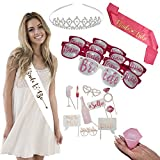Bridal Shower Bachelorette Party Supplies - The Perfect Way to Create The Best Bachelorette Party Night 24 Pieces Bachelorette Party Kit Includes All You Need for Bridal Bachelorette Party