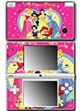 Princess Friends Ariel Snow White Cinderella Belle Jasmine Video Game Vinyl Decal Skin Sticker Cover for Nintendo DSi System