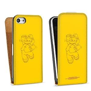 Diseño para Apple iPhone 5C DesignTasche Downflip white - Benjamin Blümchen - Elefantentanz