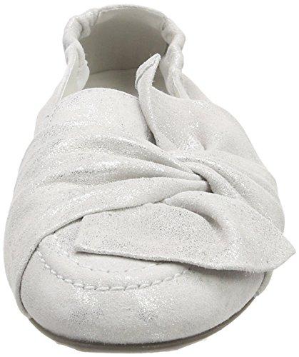 Malu White Punta Kennel und Chiusa Ballerine Schmenger 457 Bianco Donna n4BA1pW