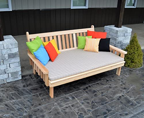 Mejor Daybed Furniture en casa y patio asiento, cedro de 6 ...