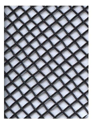 (Amaco WireForm Metal Mesh black coated aluminum woven modeler's mesh - 8 mesh 5 ft. roll)