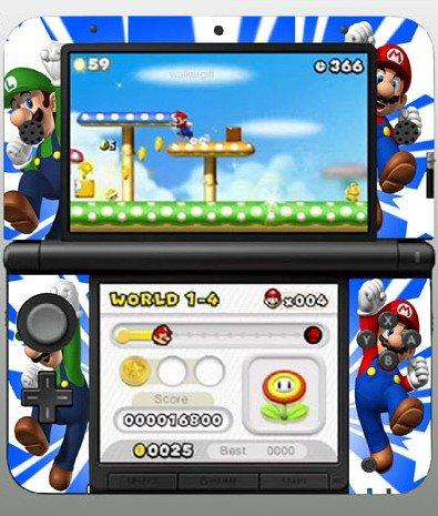 Super Mario Galaxy 3DS XL Vinyl Skin Decal Sticker for 3DS XL - Buy