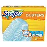 Health & Personal Care : Swiffer 180 Dusters, Multi Surface Refills, Unscented Scent, 18 Count