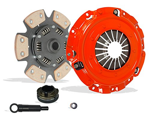 Clutch Kit Works With Mazda Models 3 5 GS-SKY GT GX i Gs S Sport Touring 2004-2013 2.0L 2.3L 2.5L l4 GAS DOHC Naturally Aspirated (6-Puck Disc Stage 3)