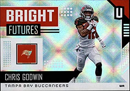 b883ea3ca2a 2018 Unparalleled Bright Futures Football #7 Chris Godwin Tampa Bay  Buccaneers Official NFL Trading Card