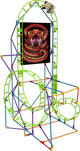Knex Cobras Coil Roller Coaster Building Set