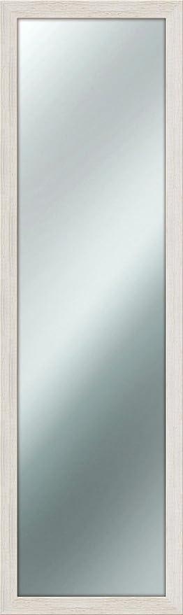 Specchio Da Parete Mirror Shabby Chic 40x125 Cm Colore Avorio