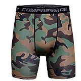 Binmer Men's Sports Training Bodybuilding Summer Shorts Workout Fitness Gym Short Pants (3XL, Army Green)
