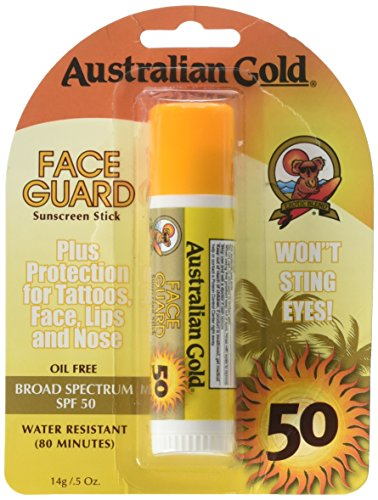 Australian Gold Face Guard Sunscreen Stick SPF 50+ 0.50 oz