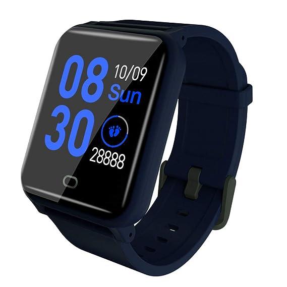 CAOQAO Smart Watch Android iOS Deportes Fitness Calorías ...