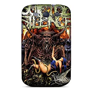 Durable Hard Cell-phone Cases For Samsung Galaxy S3 (zep15131dGMb) Custom Attractive Suicide Silence Skin