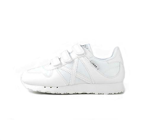 be65bca08eb Zapatillas Munich Mini Massana VCO 250 24 Blanco  Amazon.es  Zapatos y  complementos