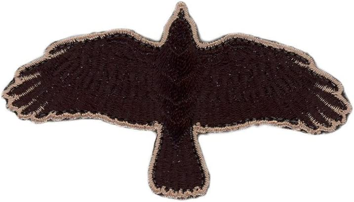 Odin Raven Flying Crow Viking Cuervo Parche Termoadhesivo Titan One Europe