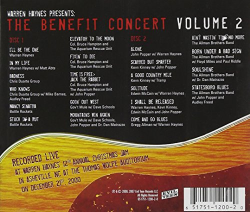 Warren Haynes Presents: The Benefit Concert, Vol. 2 by Unknown (Image #1)