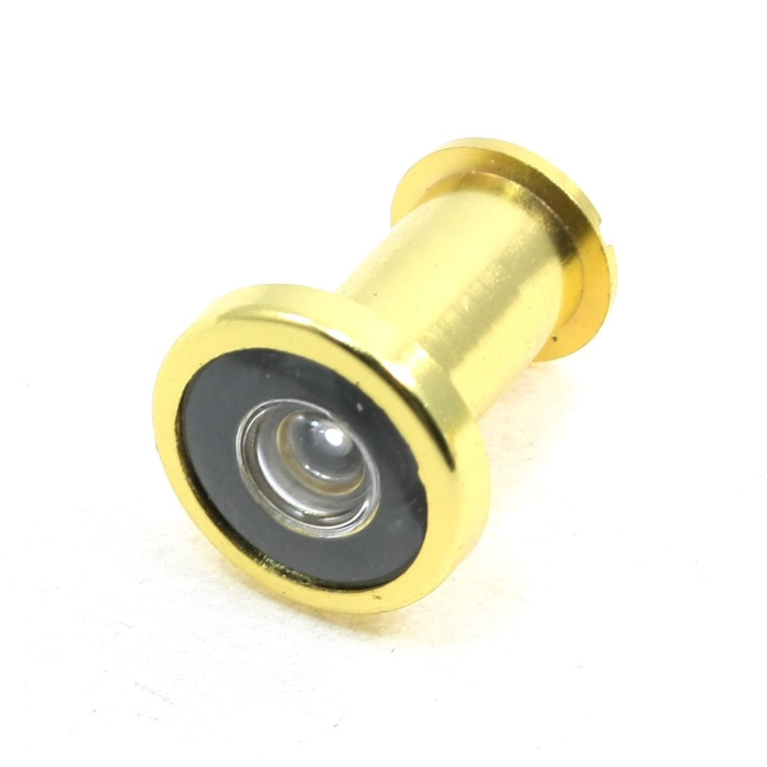 Gold Tone 180 Degree Wide Angle Door Viewer Scope Peep Hole 35-50mm Sourcingmap a13080300ux0106