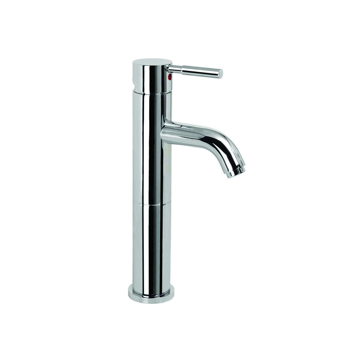 Chrome EZ-FLO 10304 Single Lever Vessel Bathroom Faucet