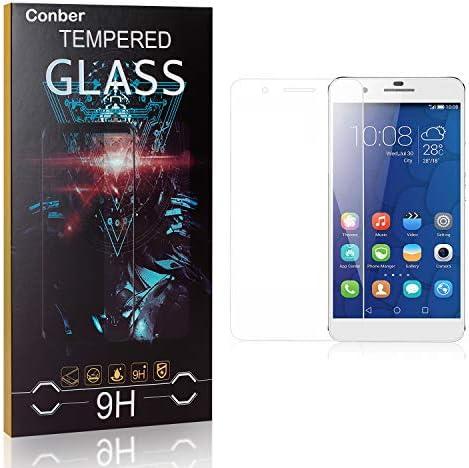 Conber [1 Stück] Displayschutzfolie kompatibel mit Huawei Mate 9 Lite, Panzerglas Schutzfolie für Huawei Mate 9 Lite [9H Härte][Hüllenfreundlich]