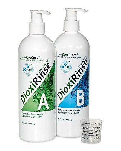 Sensitive Dental Care: DioxiRinse Anti-Microbial Mouthrinse 32 Oz. Tri-Pack, New Boxed Design!