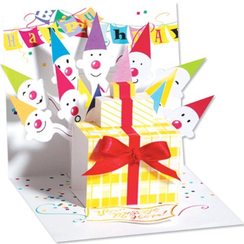Geburtstagskarte Basteln 3d Dansenfeesten