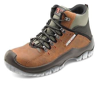 8a14a5208 Secor Traxion puntera y entresuela de acero de piel color marrón botas de seguridad  S3 nominal
