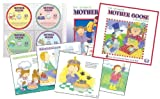 Ultimate Mother Goose Collection Nursery Rhyme Book & 4 CD Set
