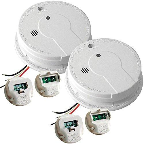 Kidde Hardwired 120V Photoelectric Smoke Alarm Battery Back