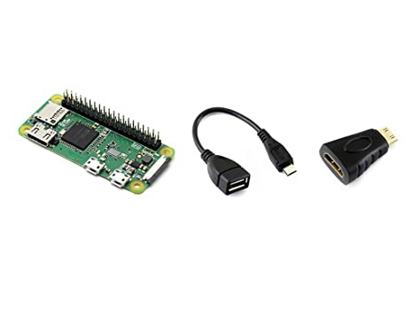 Amazon Com Waveshare Raspberry Pi Zero Wh Built In Wifi Pre