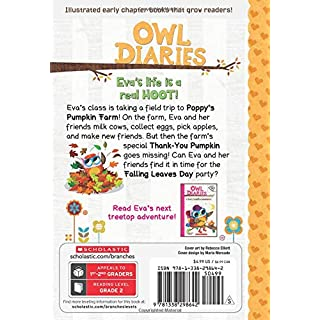 The Trip to the Pumpkin Farm: A Branches Book (Owl Diaries #11)