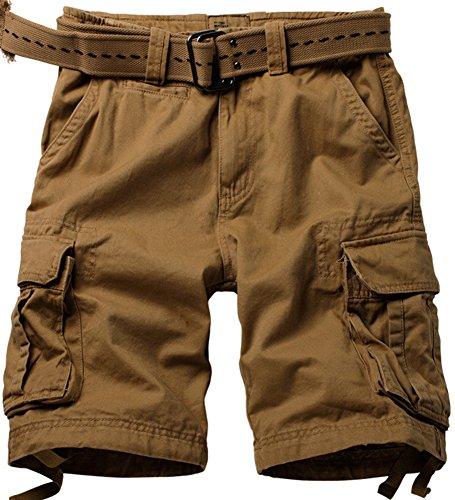 Coton Pantalons L'été De Sport Marron Camo Homme Jauntre Poches Vintage Militaire Cargo 1 Casual Multi Et Shorts Outdoor Mochoose Travail 2 fFp0YUqww