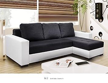 Ecksofa Newark3 Eckcouch Sofa Couch Mit Bettfunktion Schlafsofa