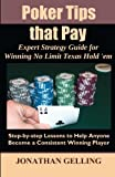 Poker Tips that Pay, Jonathan Gelling, 0984082298