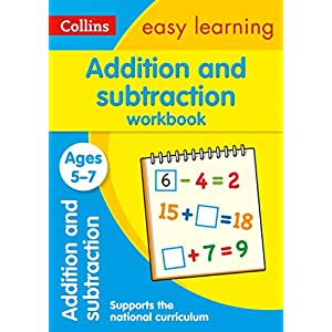 Addition-and-Subtraction-Workbook-Ages-5-7-Prepare-for-school-with-easy-home-learning-Collins-Easy-Learning-KS1-Paperback--26-Jun-2015