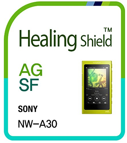 A35 Lcd (Front Back Screen Protector Film for SONY NW A30 A35 A36 A37 Music Player , Anti-Glare Matte Screen Protector LCD Shield Guard Healing Shield Film [Front 2pcs Film , Back)