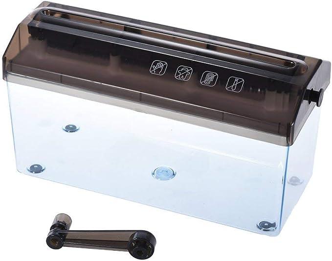 A4 9 carta trituratore di carta triturata manuale carta trituratore documenti documenti fatti a mano macchina da taglio dritto per la scuola ufficio