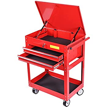 Amazon.com: Goplus 22-Inch Steel Chest Roller Rolling Tool Chest ...