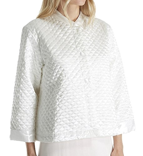 quilted bed jacket - 4