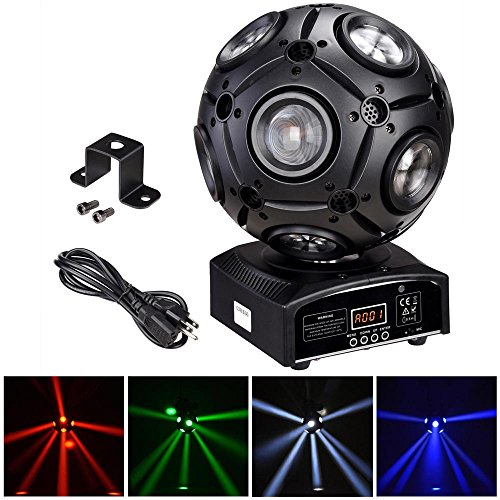AW 9x12W RGBW 4in1 LED Moving Head Beam Light Magic Ball Stage Light Party Ballroom Club Bar