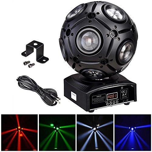 AW 9x12W RGBW 4in1 LED Moving Head Beam Light Magic Ball Stage Light Party Ballroom Club Bar